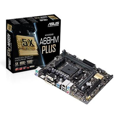 asus asus fm2+ a68hm-plus m-atx  - click for full details or buy