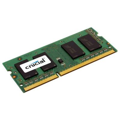 crucial crucial ddr3 1600 so-dimm 8gb  - click for full details or buy