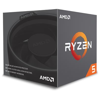 amd amd ryzen 5 1400 am4 ret wraith  - click for full details or buy