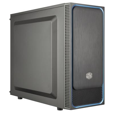 coolermaster cooler master case masterbox e500l blue  - click for full details or buy