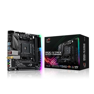 asus asus am4 rog strix b450-i gaming m-itx  - click for full details or buy
