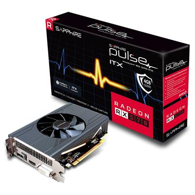 sapphire sapphire radeon rx 570 4gb pulse itx  - click for full details or buy