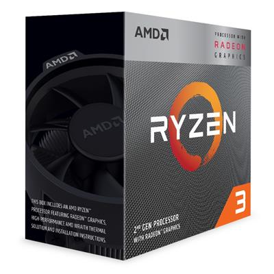amd amd ryzen 3 3200g am4 ret wraith stealth  - click for full details or buy